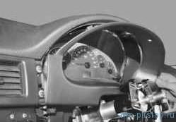 Снятие и установка комбинации приборов ВАЗ-2170