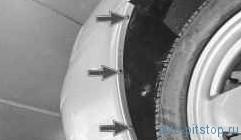 Снятие и установка переднего бампера ВАЗ-2170