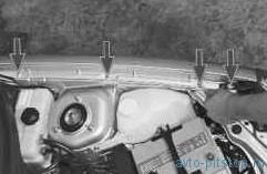 Снятие и установка переднего крыла ВАЗ-2170
