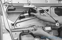 Замена стеклоподъемника передней двери ВАЗ-2170