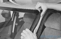 Замена неподвижного остекления кузова ВАЗ-2170