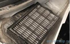 Замена фильтра поступающего в салон воздуха Шевроле-Нива