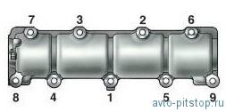 Замена гидроопор рычагов привода клапанов Шевроле-Нива
