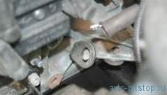 Снятие и установка двигателя Шевроле-Нива