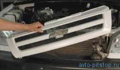 Замена радиатора и электровентиляторов системы охлаждения Шевроле-Нива