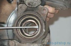 Замена смазки в подшипниках ступицы переднего колеса Шевроле-Нива