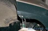 Снятие переднего сиденья и салазок ВАЗ 2110-2112