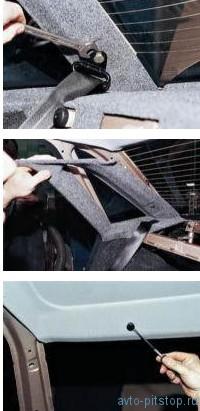 Снятие обивки крыши ВАЗ 2110-2112