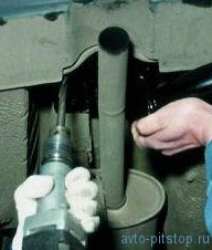 Установка тягово-сцепного устройства ВАЗ 2110-2112