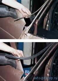 Замена вклеенных стекол кузова ВАЗ 2110-2112