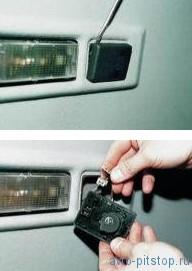Снятие датчика температуры воздуха в салоне ВАЗ 2110-2112