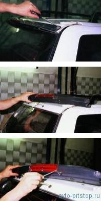Снятие дополнительного стоп-сигнала ВАЗ-2111