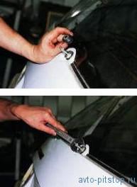 Снятие моторедуктора очистителя заднего стекла ваз 2111-2112