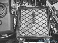 Замена воздушного фильтра ВАЗ (ЭСУД)
