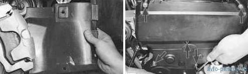 Установка поршня первого цилиндра в положение ВМТ такта сжатия в двигателе ВАЗ 21124, 21126