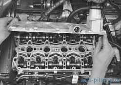 Замена прокладки крышки головки блока цилиндров в двигателе ВАЗ-21126