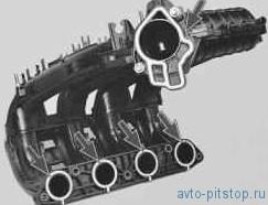 Замена уплотнительных колец впускного коллектора в двигателе ВАЗ 21124, 21126