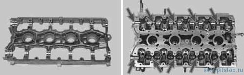 Снятие, дефектовка и установка распределительных валов в двигателе ВАЗ 21124, 21126