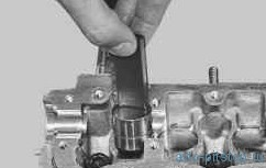 Проверка и замена гидротолкателей в двигателе ВАЗ 21124, 21126