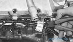 Снятие и установка топливной рампы на двигателях ВАЗ 21124, 21126