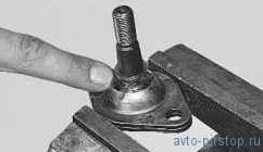 Замена шаровой опоры ВАЗ-2170