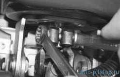 Снятие и установка карданного вала рулевого управления ВАЗ-2170