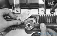 Снятие и установка внутреннего наконечника рулевой тяги ВАЗ