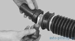 Снятие и установка рулевого механизма ВАЗ-2170