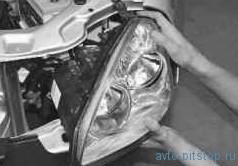 Замена блок-фары ВАЗ-2170