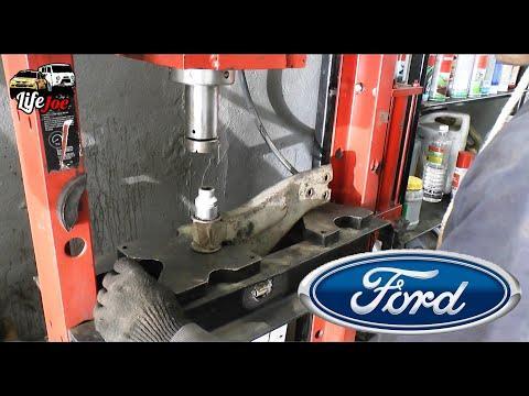 Замена сайлентблоков Форд Мондео 3. Ремонт передней подвески Ford Mondeo 3