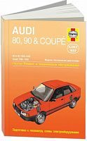 Руководство по ремонту и эксплуатации Audi 80. 90. Coupe 1986-1990