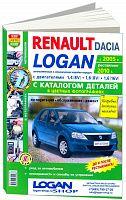 Руководство по ремонту и эксплуатации автомобиля Renault Logan c 2005