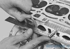 Разборка, ремонт и сборка головки блока цилиндров в двигателе ВАЗ 21124, 21126