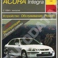 Руководство по ремонту и эксплуатации Honda Civic, Acura Integra с 1994